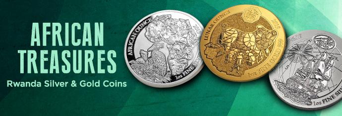 Rwanda Mint coins