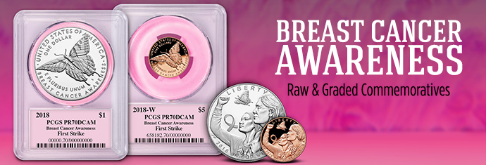 Breast Cancer Awareness Commemoratives