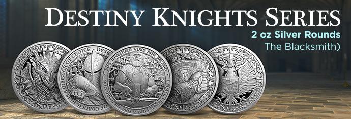 Destiny Knights Silver Round Series