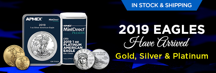 2019 Silver and Gold Eagle Coins
