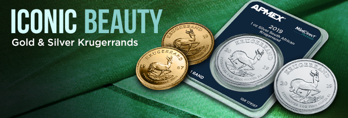 Gold and Silver krugerrand