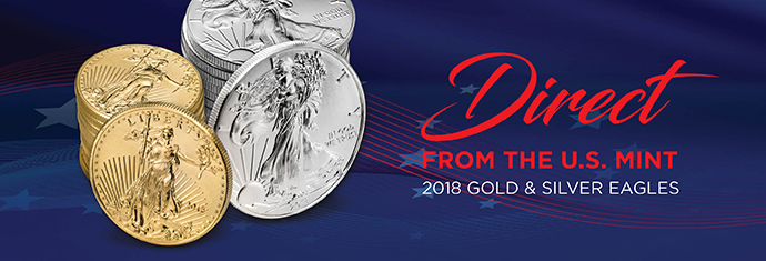 2018 Gold and Silver Eagles
