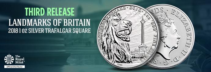Landmarks of Britain Trafalgar Square