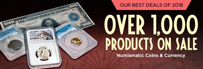 Numismatic Deals Savings Event