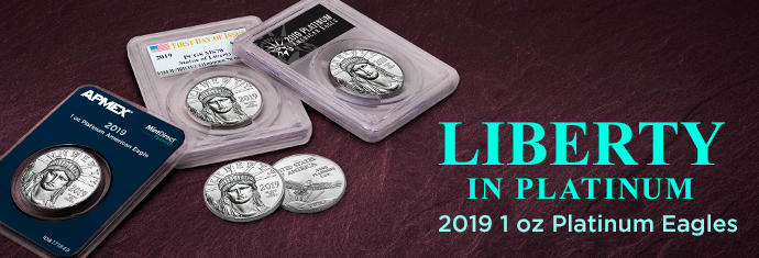 2019 1 oz Platinum Eagle