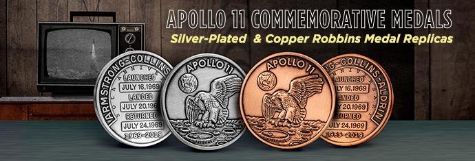 apollo 11 commemorative medals