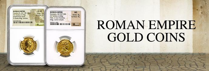 Coin Collecting - Roman Empire Gold Coins