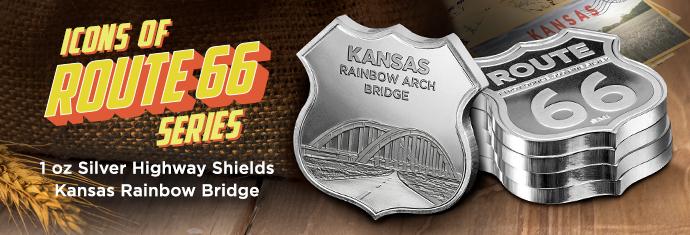 Route 66 Silver Shield