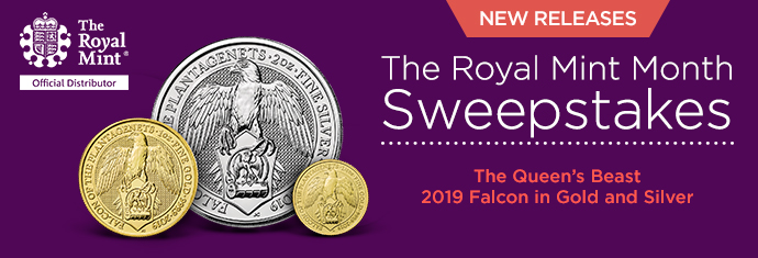 The Queen's Beasts Falcon Coin