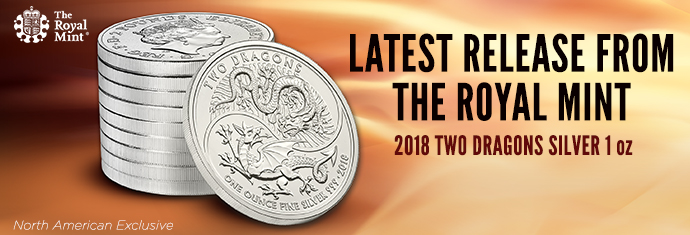 Royal Mint Two Dragons Coin