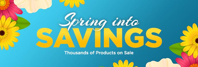 2019 Spring into Savings Sales Event