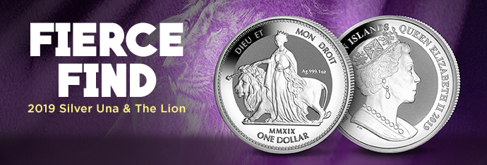 2019 Silver una and the lion