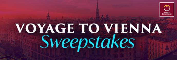 2019 Voyage to Vienna Sweepstakes