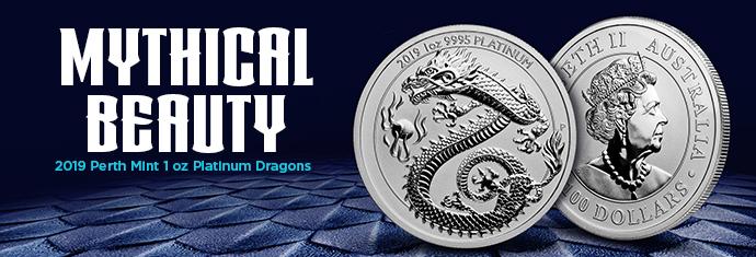 2019 1 oz Platinum Dragon