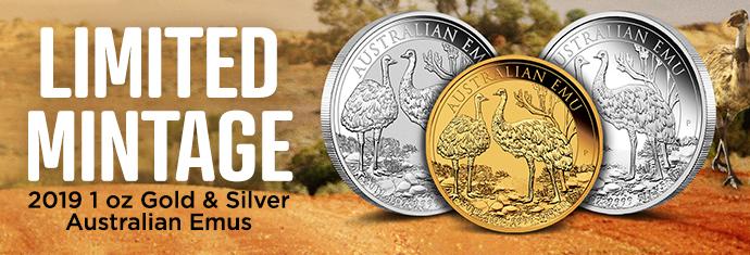 2019 Perth Mint Emu Coins at APMEX