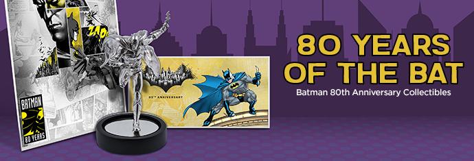Batman 80th Anniversary Collectibles at APMEX