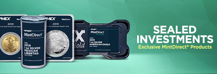 MintDirect Products Only From APMEX