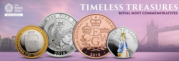 Royal Mint Commemorative Coins