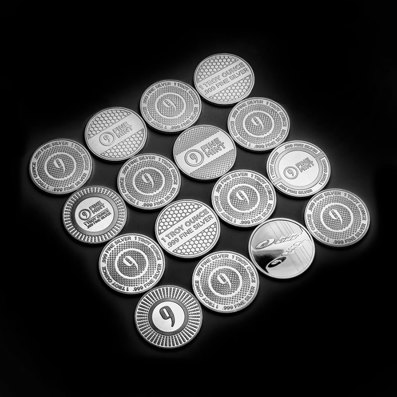 9Fine Silver Rounds