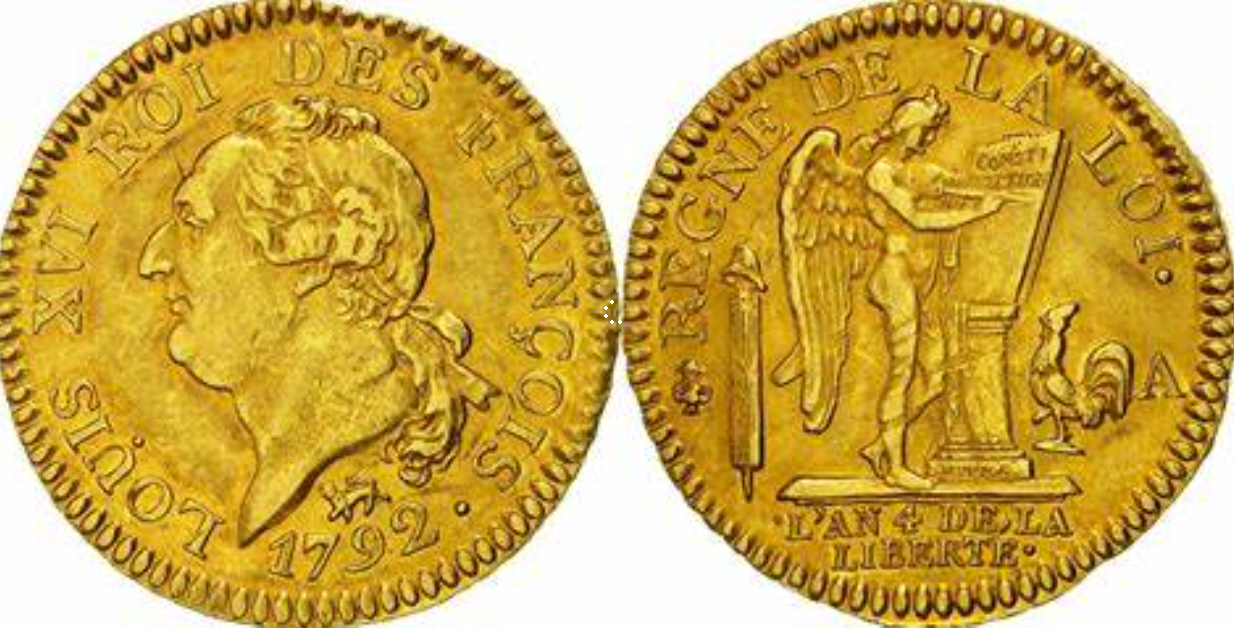 1792 Gold Angel Coin
