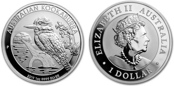 The 2019 Australia 1 Ounce Silver Kookaburra
