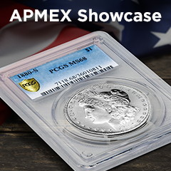 APMEX Showcase: 1880-S Morgan Silver Dollar MS-68 PCGS