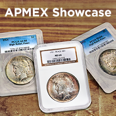 APMEX Showcase: 1921 Peace Dollars
