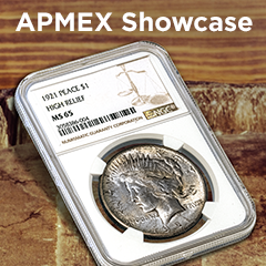 APMEX Showcase: The 1921 Peace Dollar – Almost a One-Year Type Coin