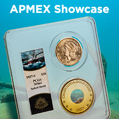 "APMEX Showcase: Survivors from the ""Ship of Gold"" Disaster"