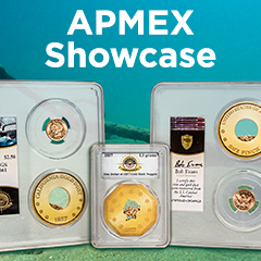 APMEX Showcase: SS Central America Shipwreck Gold