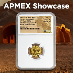 APMEX Showcase: King Darius of the Persian Empire