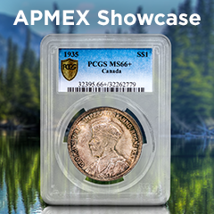 APMEX Showcase: 1935 Canadian Silver Dollar King George V