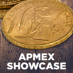 APMEX Showcase: France Gold 20 Francs Lucky Angel