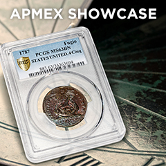 APMEX Showcase: Benjamin Franklin's Fugio Cent