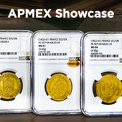 APMEX Showcase: Kingdom of France Gold Ecu'Or