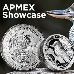 APMEX Showcase: Silver Kookaburras
