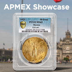 APMEX Showcase: The Mexican Gold Centenario
