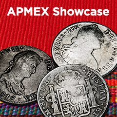 APMEX Showcase: Mexican Silver 8 Reales