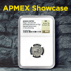 APMEX Showcase: Let the Games Begin!