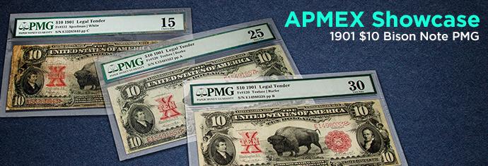 Shop $10 Bison Notes at APMEX