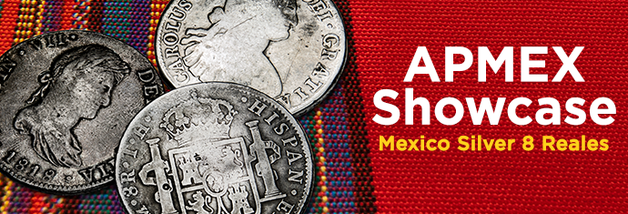 Mexican Silver 8 Reales at APMEX