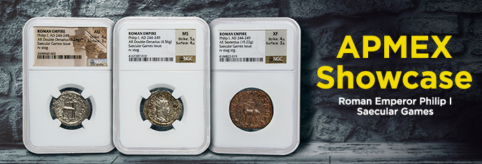 Coins from the Ancient Roman Empire