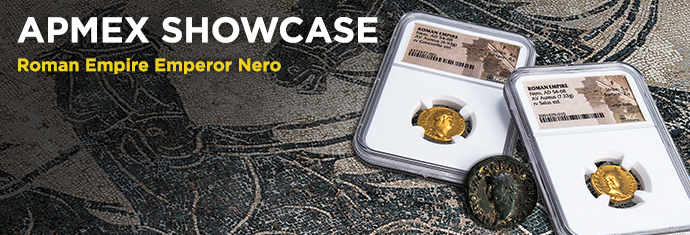 Emperor Nero Gold Coins