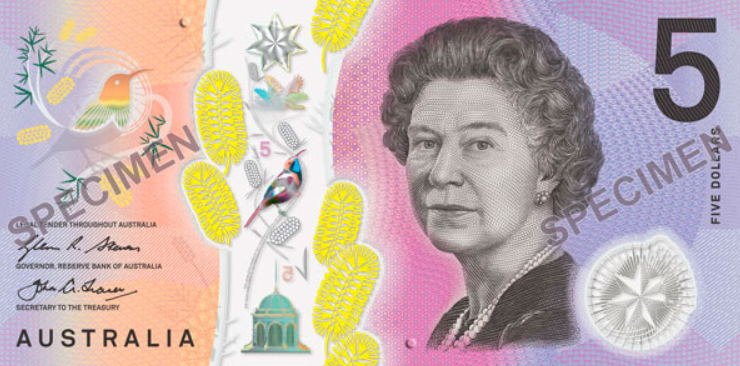 Australian Currency depicting the kookaburra throughout their history