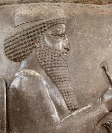 Bas Relief of Darius I, Darius the Great, King of Persia