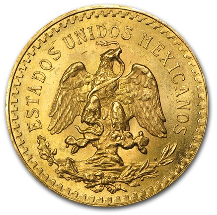 Gold Centenario obverse