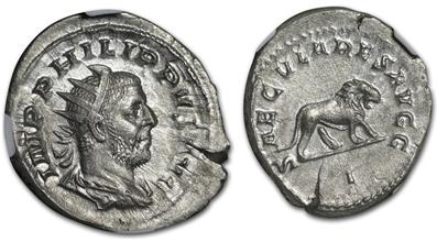 Roman Double Denarius