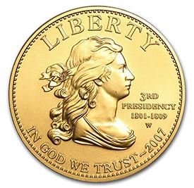 First Spouses Fine Gold Coin
