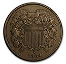Two Cents  (1864-1873)