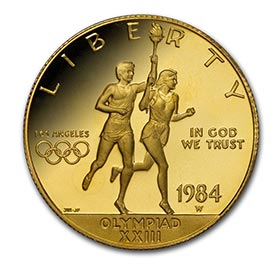 Modern Gold Commemorative Coins